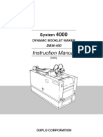 Dbm 400 Instruction