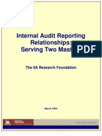 IA Reporting_Serving 2 Masters