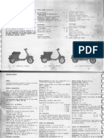 Vespa Old Lambretta Restoration Manual Reforma (English, Italian) Putameda