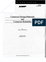 Connector Design - Materials and Connector Reliability