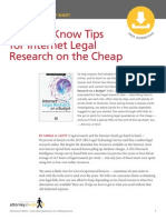 10 Tips for Internet Legal Research on the Cheap 090114