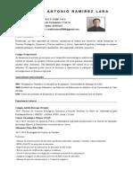 Curriculum Vitae Carlos Ramirez NOVIEMBRE 2014