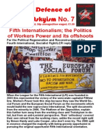 In Defence of Trotskyism No. 7