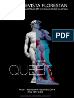 Revista Florestan, Dossiê Teoria Queer