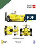 Catálogo Formula Renault 2008
