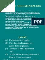 TIPOS DE ARGUMENTACION