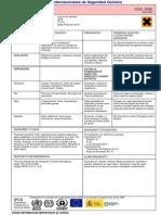 Ficha de Seguridad Del Diclorometano