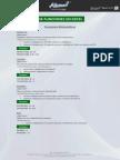 Calculos de Funciones en Excel