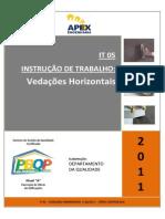 IT 05 - Vedações Horizontais v.00-2011