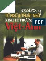 Viet Anh Cach Dung Tu Ngu Va Thuat Ngu Kinh Te Thuong Mai 5699