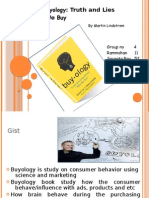 "Book review on ""BUYOLOGY"""