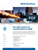 m2m Solutions 2014