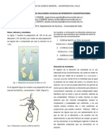 laboratorPREPARACION DE SOLUCIONES ACUOSAS DE DIFERENTES CONCENTRACIONES. io 3