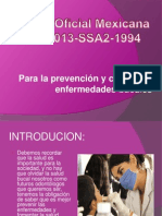 Norma Oficial Mexicana NOM 013 SSA2 1994