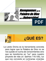 Lectio Divina Universidad
