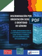 Informe Final discriminación por genero