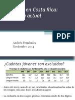 Andrés Fernández - Exclusión en Costa Rica - panorama actual