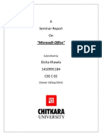 Report MsOffice