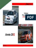 Catálogo Saxo Rallycross