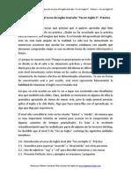 """2.0.- Introducción Al Curso de Inglés Nivel Alto """"Yes en Inglés 3"""". Práctico"""