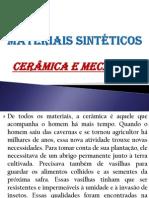 Materiais Cerâmicos e a Mecância