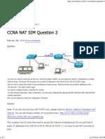 Ccna Training » Ccna Nat Sim Question 2