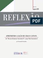 Texto 1- Refletindo Conservando (Fernando Fernandez)