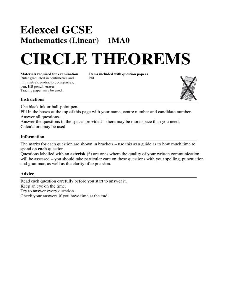 90 Circle Theorems | Circle | Angle