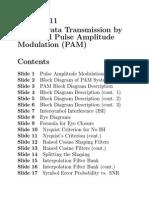 PAM Modulation