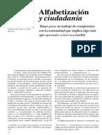 Alfabetizacion y Ciudadania / MARIANO SIRONI