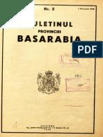 Buletinul Provinciei Basarabia. Nr 2