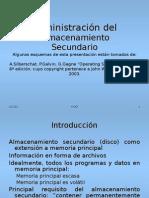Sistemas Operativos Tema 4 Administración Del Disco