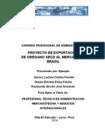 Proyecto Oregano