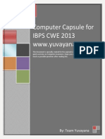 Computer Capsule for IBPS CWE Clerk 2013encrypted