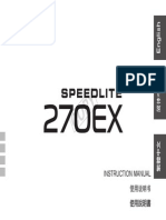 Speedlite 270ex