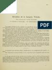 Estudios de La Lengua Veliche
