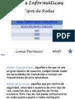 Tipos de Redes (PP)