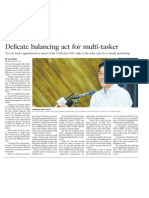 Delicate Balancing Act for SPS Teo as the Youngest Holder, 11 Apr 2009, Business Times
