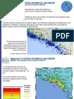 Informe Terremoto de Fonseca en español
