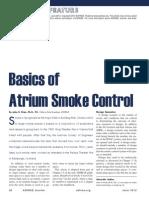 Atrium Smoke Control