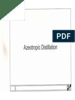 Azeotropic Distillation