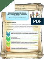 objetivos  y actividades de aprendizaje - portafolio