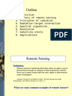Remote Sensing Fundamentals