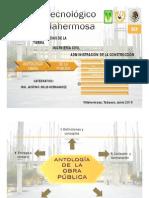 Antologia administracion