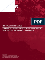 Kahrs Installation Guide w5s Gb