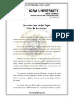 Marketing Management Recession Report 2009