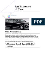 Top 10 Most Expensive Armored Cars.doc