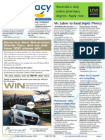 Pharmacy Daily for Fri 28 Nov 2014 - Vic Labor to fund Super Phmcy, PSA15 launches, Pfizer for 12 month MA Code delay, Events Calendar, and much more