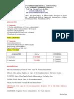 Anotações Das Aulas - D. Administrativo