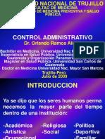 Control Administrativo de Costos